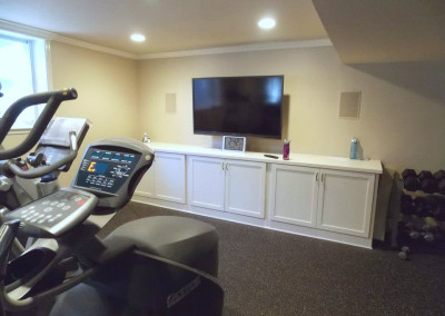 Gersack Exercise Room AV System